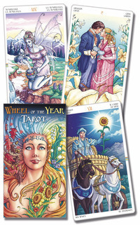 Primary image for Wheel of the Year Tarot Deck Cards 1st Edition New