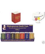 Shakespearean insult gum - $2.97