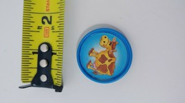 Fisher Price Barnyard Bingo game replacement used coin token blue cow - $2.47