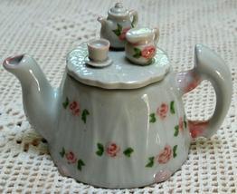 Vintage NEW Andrea by Sadek China Teapot - $12.28
