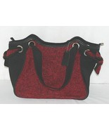 Howards Brand Arianna Collection 67865 Red And Black Tweed Side Panels P... - $55.00