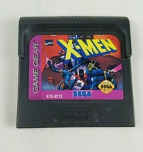 X-Men Sega Game Gear Video Game Disk Cartridge Only - $6.68