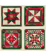 Holiday Ornaments 1 canvaswork needlepoint char... - $23.40