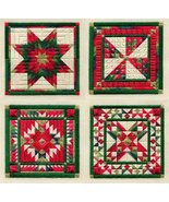 Holiday Ornaments 1 counted canvaswork needlepoint chart Laura J Perin D... - $11.70