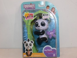 Wowwee Fingerlings Black White Baby Panda - Drew NIP Authentic tb - $14.99