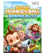 Super Monkey Ball: Banana Blitz [Nintendo Wii] - $6.43