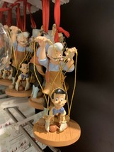 Disney 2019 Pinocchio and Geppetto Sketchbook Christmas Ornament New with Tag - $49.49