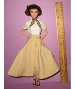 Barbie Audrey Hepburn Model Muse Roman Holiday Dressed Doll for OOAK or ... - $80.00