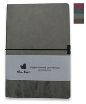 YRL Best | Layflat A5 Executive Writing Journal/Notebook, 5x5mm Squared/... - $18.23