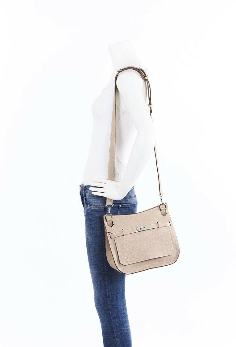 Hermes Jypsiere 28 Clemence Shoulder Bag image 8