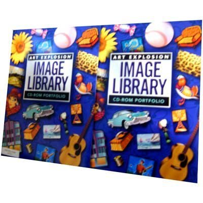 Primary image for Art Explosion Image Library 2004 [Single] Windows