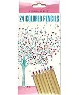 Studio Series Tree of Hearts Colored Pencil Set (Set of 24) [Paperback] ... - $12.95