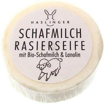 Haslinger Schafmilch Shaving Soap with Sheep Milk and Lanolin - $15.08