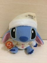 Disney Stitch and Ginger Bread Plush Doll, Keychain. Christmas Theme. RARE Item - $19.99
