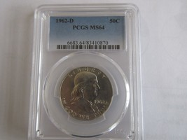 1962-D Franklin Half Dollar  PCGS  MS64 - $58.00