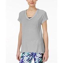 Calvin Klein Performance Burnout T-Shirt Color Grey Size Large Loose Fit - $17.72
