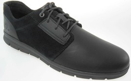 TIMBERLAND A1OFN GRAYDON WR LOW MEN'S BLACK LEATHER CASUAL SHOES - $53.19