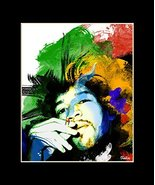 "Jimi Hendrix Exclusive Artwork by ""Fantics"" 8x10 Matted to 11x14 - Limit... - $28.71"