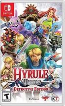 Hyrule Warriors: Definitive Edition - Nintendo Switch - $68.35