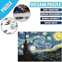 OZMI Jigsaw Puzzles 1000 Pieces for Adults and Kids, Starry Night Adult Jigsaw P image 6