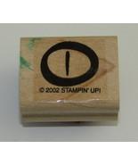 Alligator Eye Rubber Stamp Crocodile Reptile Wood Mounted Stampin Up - $3.39