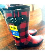 WESTERN CHIEF Womens Tall Rain Boot, Red Buffalo Gal, Sz 7 Sm. Manuf. Fl... - €23,32 EUR