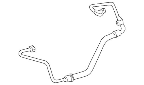 Genuine Mercedes-Benz Pipe 112-230-32-56