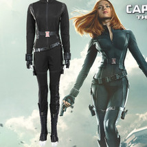 Captain America 2 Natasha Romanoff Black Widow Cosplay Costume - $169.00