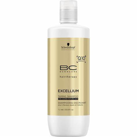 Schwarzkopf Professional  Excellium Taming Shampoo 33.8oz