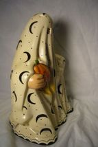 Vaillancourt Folk Art Large Trick or Treat Ghost personally signed by Judi! image 4