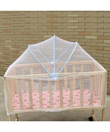 Baby Crib Anti-mosquito Net Care Baby Bed Crib Netting Curtain Dome Mosq... - $20.39