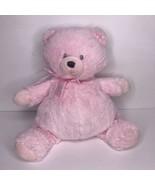 Baby Gund Plush Pink Tilley Teddy Bear 4034091 Flat Soft Stuffed Toy - $24.13