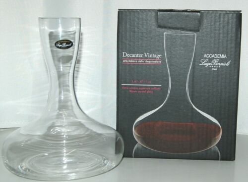 Luigi Bormioli 0769305 Accademia Crystal Decanter Vintage Color Clear