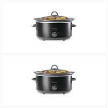 5 Qt. Slow Cooker- 3 Temperature Settings, Easy Clean removable Interior - $69.65
