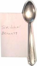 VINTAGE SIR JOHN BENNETT SPOON SILVERPLATE BIMF STAMPED - $4.95