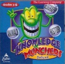 Knowledge Munchers Deluxe (Jewel Case) - $2.99