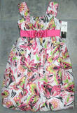 Girls Pink Dress Size 10 Butterfly Party Bubble Hem My Michelle Teen NWT