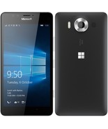 "Microsoft lumia 950 3gb 32gb black 5.2"" hd screen windows 10 4g lte smartphone - $264.99"