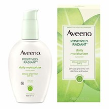 Aveeno Positively Radiant Daily Face Moisturizer with Broad Spectrum SPF 15 Suns