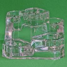 NIB Partylite Crystal Castle Votive Candle Holder (Holds 4 Candles), P7170 - $10.95