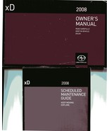 2008 Scion Owners Manual, Toyota Owners Manual - Used Very Good - $29.99