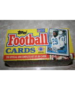 1988 Topps Football Factory Set w/Bo Jackson Rookie - $13.95