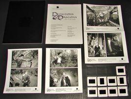 2000 DUNGEONS & DRAGONS Movie PRESS KIT Folder 4 Photos 9 Slides Product... - $11.64