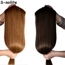 S-noilite 18-30 inches Clip in Hair Extensions 3/4 Full Head 5 Clips ins... - $9.59