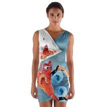 tunic top wrap dress octopus dory nemo ocean bruce sleeveless hot sexy  - $36.00 - $42.00