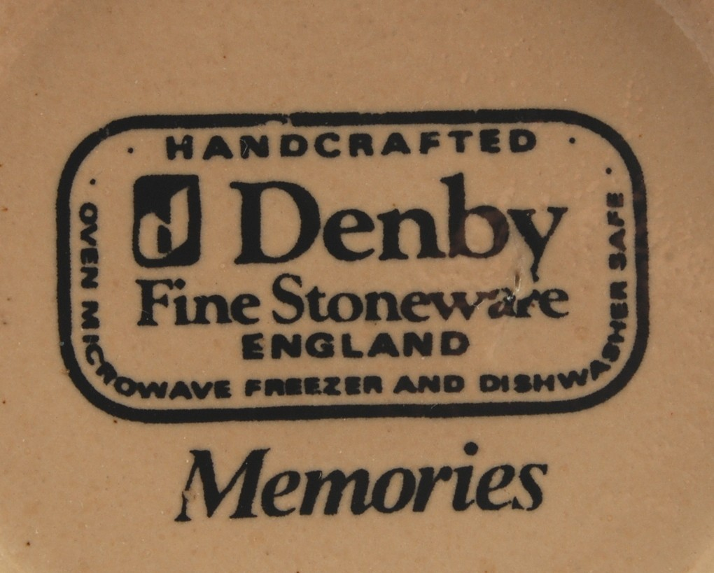 Denby Memories Cup England Stoneware New