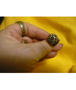 PARANORMAL EXTREME POWER DJINN OF THE PHARAOHS! RING SIZE 8TOPAZS AND ONYX  - $300.00
