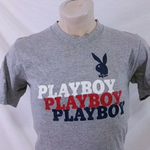 Vintage Playboy Magazine T Shirt Spell Out 80s Rayon Club Single Stitch ... - $149.99