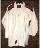 White Combat Corner A2 Men's BJJ GI ECO 3.0 Kimono Pants Jacket - $88.83
