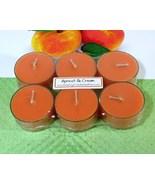 Apricot & Cream PURE SOY Tea Lights - $5.00